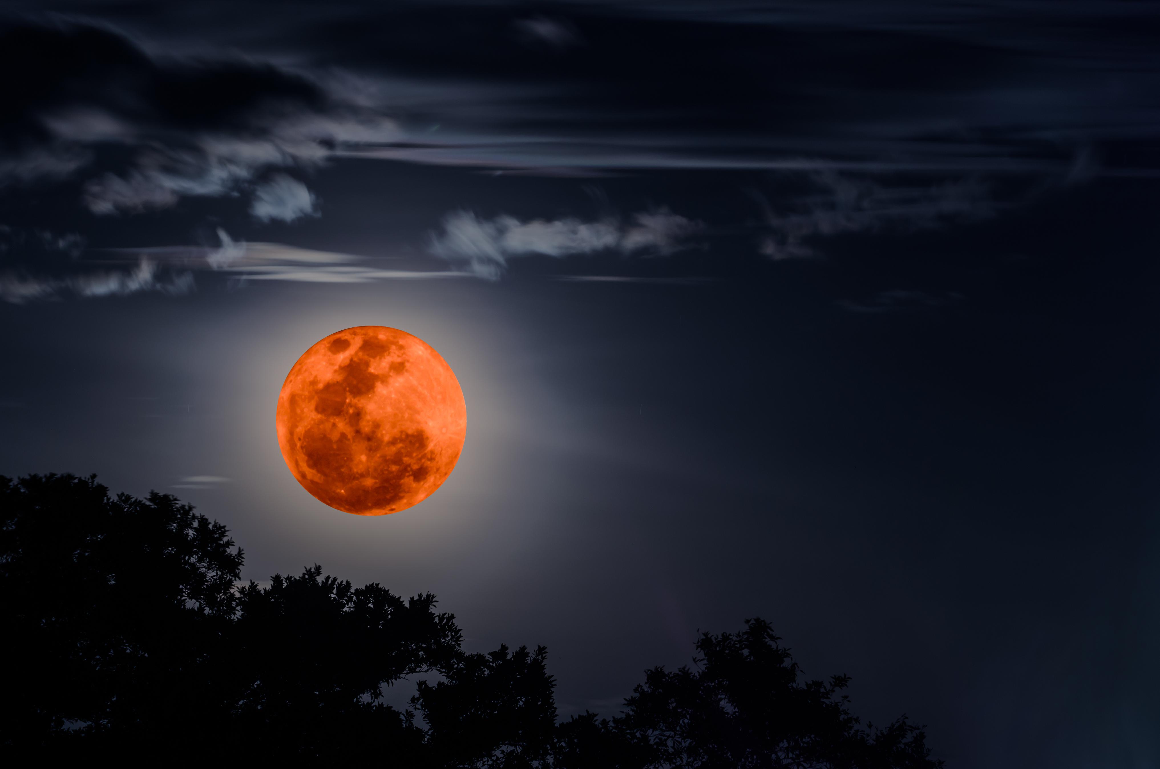 кровавое затмение луны картинки пособие для изучения